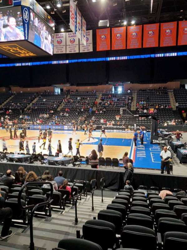 Nassau Veterans Memorial Coliseum, section: 101, row: 1, seat: 13