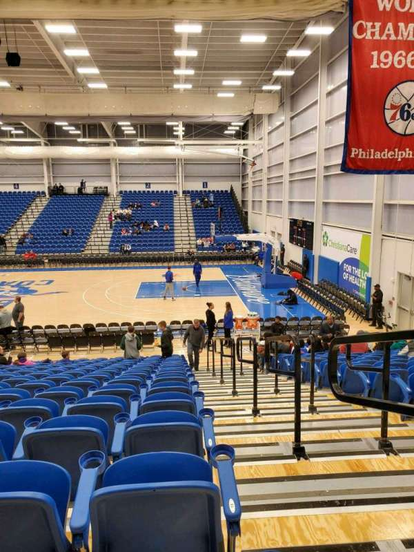 76ers Fieldhouse, section: 9, row: 15, seat: 12