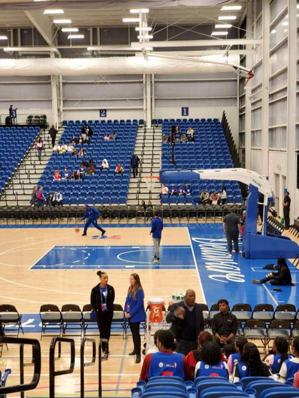 76ers Fieldhouse, section: 10, row: 11, seat: 1