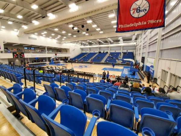76ers Fieldhouse, section: 10, row: 11, seat: 5