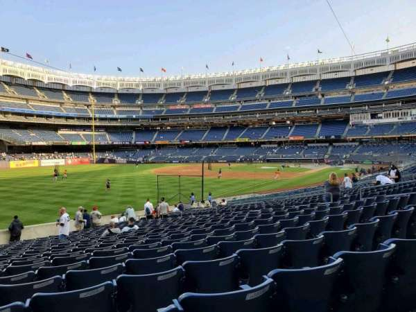 Yankee Stadium, section: 130, row: 22, seat: 18