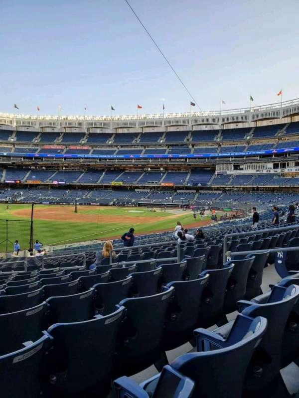 Yankee Stadium, section: 130, row: 22, seat: 9