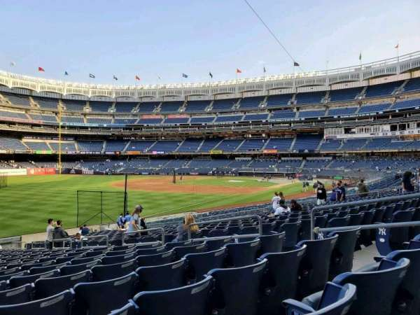 Yankee Stadium, section: 130, row: 22, seat: 8
