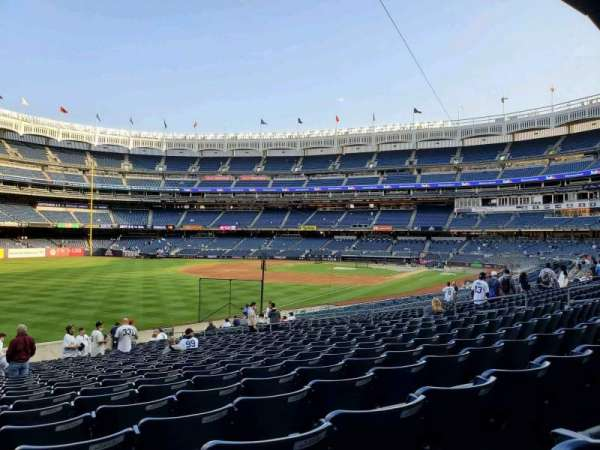 Yankee Stadium, section: 130, row: 24, seat: 23