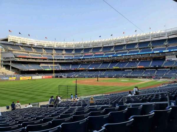 Yankee Stadium, section: 130, row: 24, seat: 8
