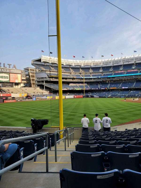 Yankee Stadium, section: 131, row: 16, seat: 20