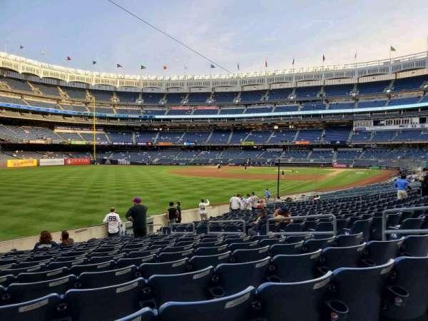 Yankee Stadium, section: 131, row: 16, seat: 9