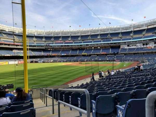 Yankee Stadium, section: 132, row: 12, seat: 1
