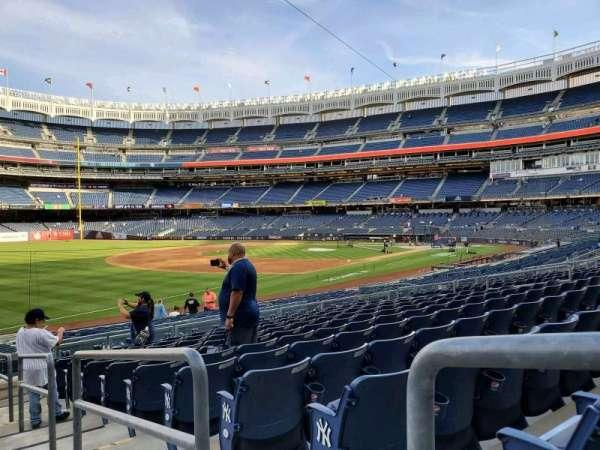 Yankee Stadium, section: 129, row: 22, seat: 1