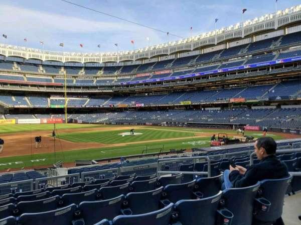 Yankee Stadium, section: 126, row: 7, seat: 6
