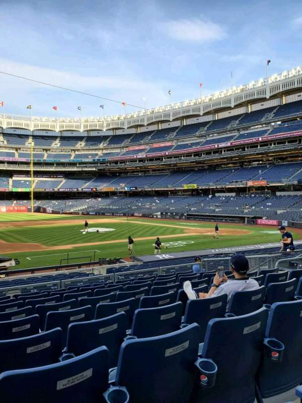 Yankee Stadium, section: 125, row: 9, seat: 13