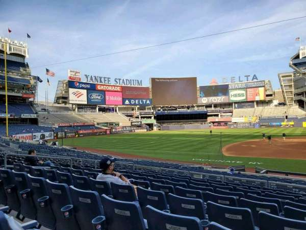 Yankee Stadium, section: 125, row: 9, seat: 2
