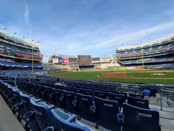 Yankee Stadium, section: 125, row: 9, seat: 1