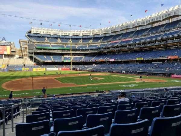 Yankee Stadium, section: 125, row: 12, seat: 8