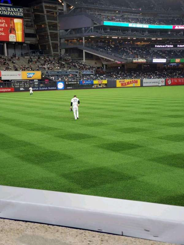 Yankee Stadium, section: 132, row: 1, seat: 14