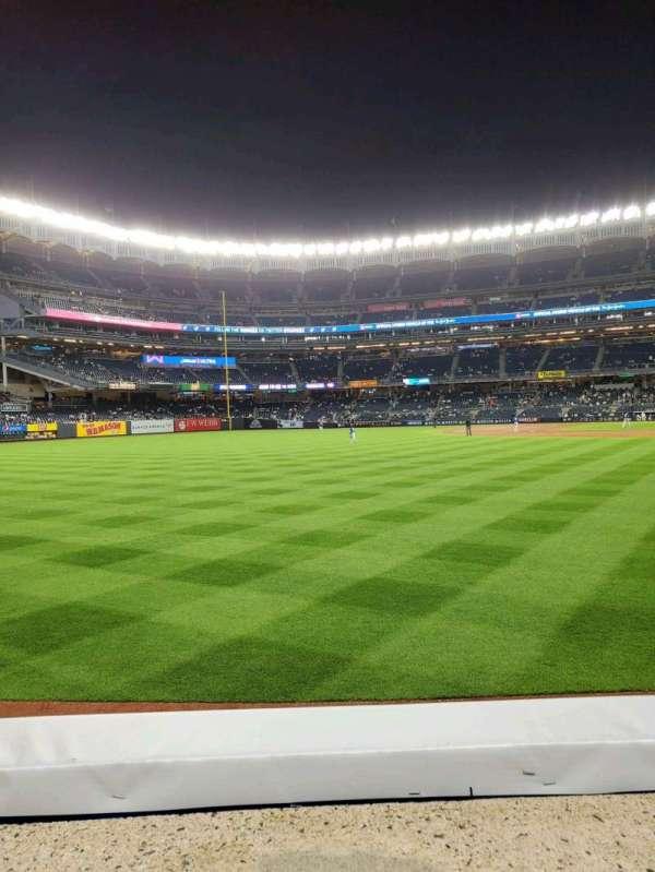 Yankee Stadium, section: 132, row: 1, seat: 15