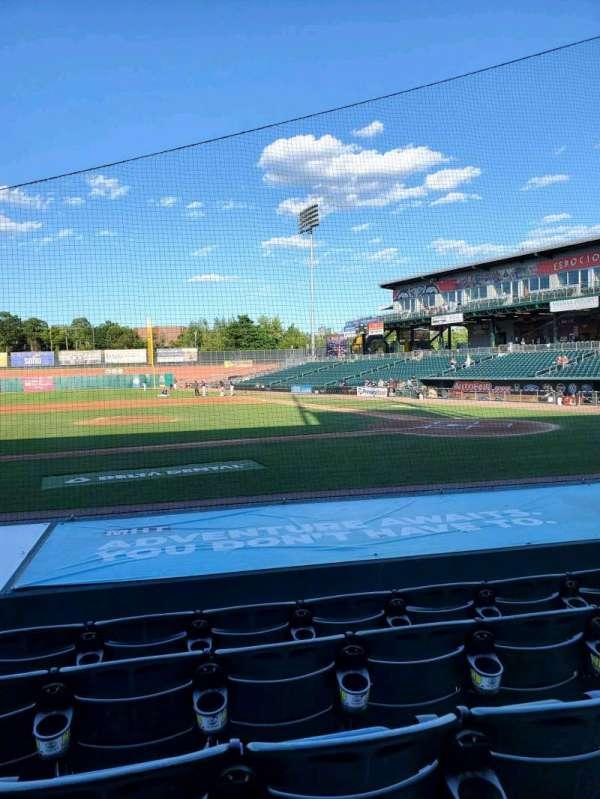 Northeast Delta Dental Stadium, section: 106, row: K, seat: 23