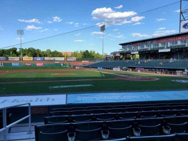 Northeast Delta Dental Stadium, section: 106, row: M, seat: 25