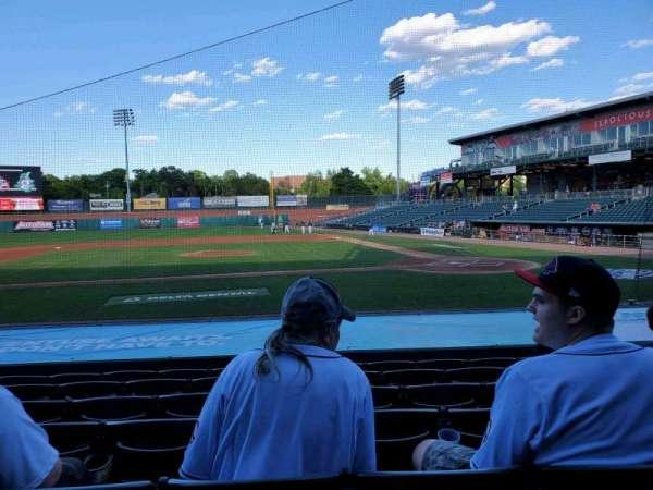 Northeast Delta Dental Stadium, section: 106, row: M, seat: 15