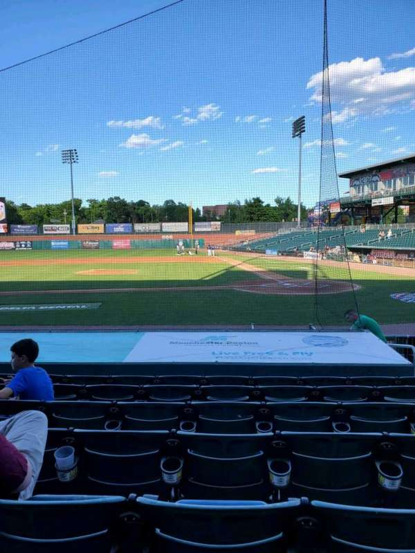 Northeast Delta Dental Stadium, section: 106, row: M, seat: 5