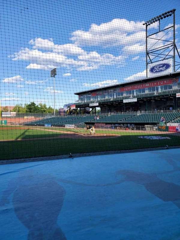 Northeast Delta Dental Stadium, section: 106, row: F, seat: 16