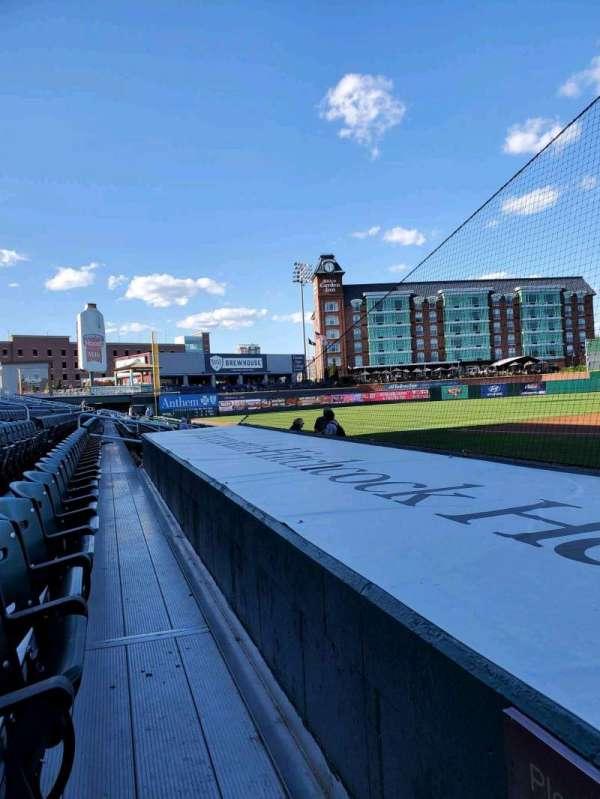 Northeast Delta Dental Stadium, section: 106, row: F, seat: 25