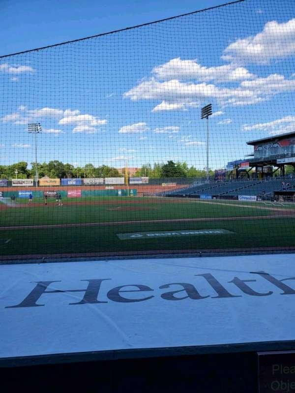 Northeast Delta Dental Stadium, section: 105, row: G, seat: 1