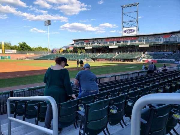Northeast Delta Dental Stadium, section: 103, row: H, seat: 1