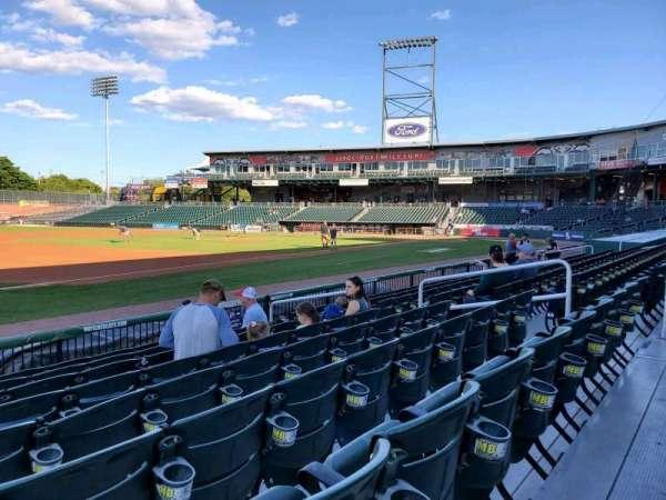 Northeast Delta Dental Stadium, section: 103, row: H, seat: 11
