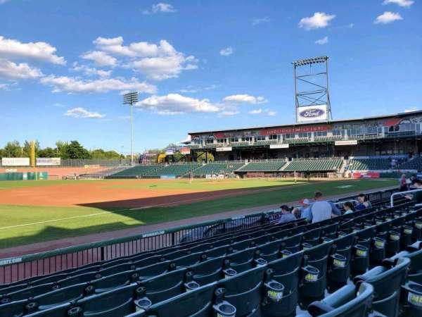 Northeast Delta Dental Stadium, section: 103, row: H, seat: 19