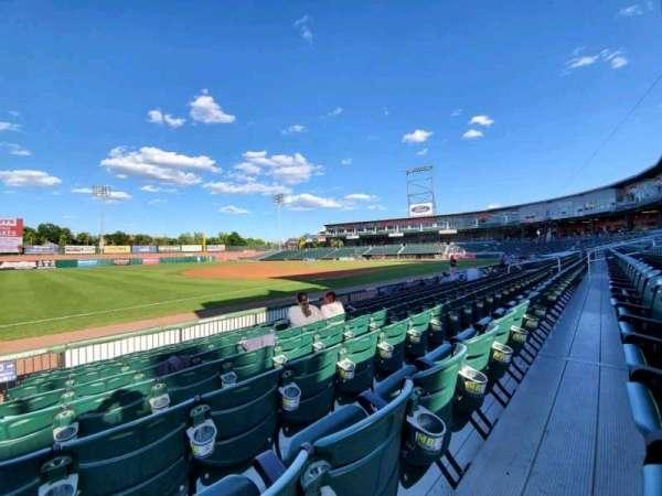 Northeast Delta Dental Stadium, section: 103, row: H, seat: 27