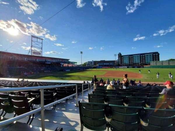 Northeast Delta Dental Stadium, section: 114, row: S, seat: 25