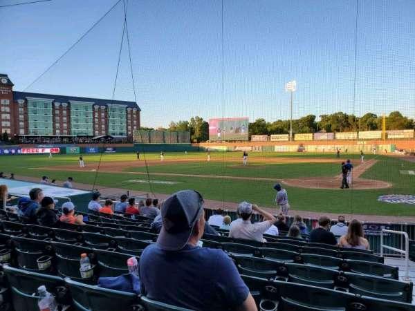 Northeast Delta Dental Stadium, section: 107, row: M, seat: 3