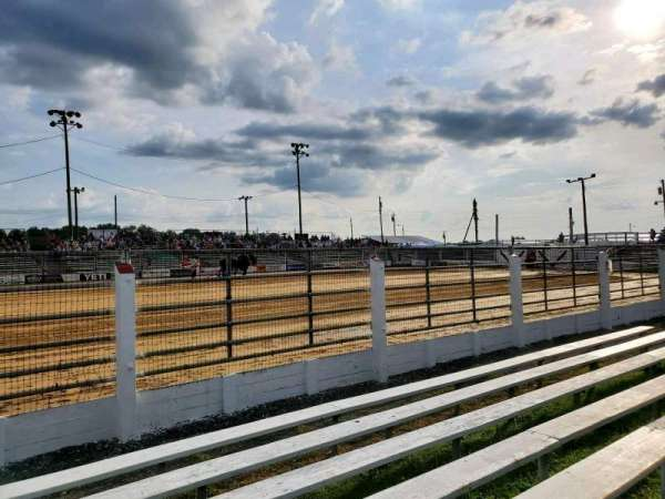 Cowtown Rodeo, section: General Admission, row: 7, seat: North Bleachers