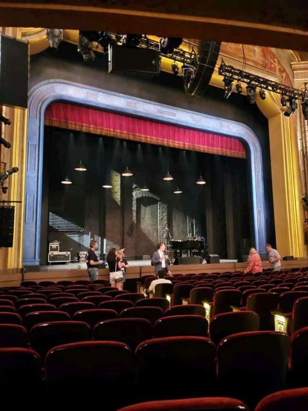 St. James Theatre, section: Orchestra L, row: M, seat: 11