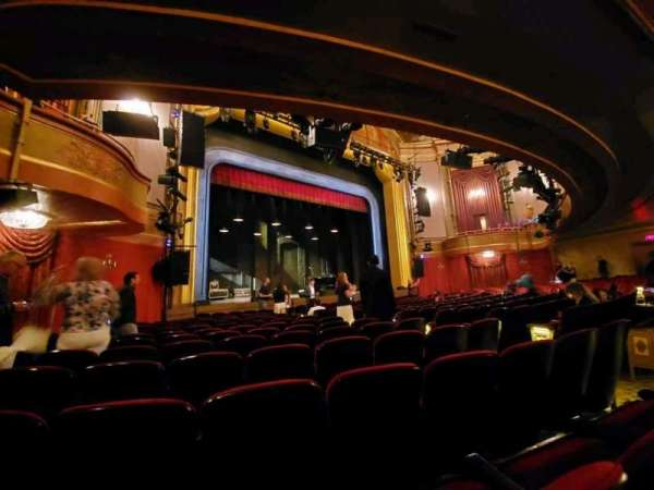 St. James Theatre, section: Orchestra L, row: M, seat: 15
