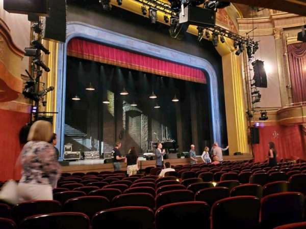 St. James Theatre, section: Orchestra L, row: M, seat: 17
