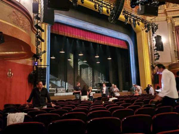 St. James Theatre, section: Orchestra L, row: M, seat: 21