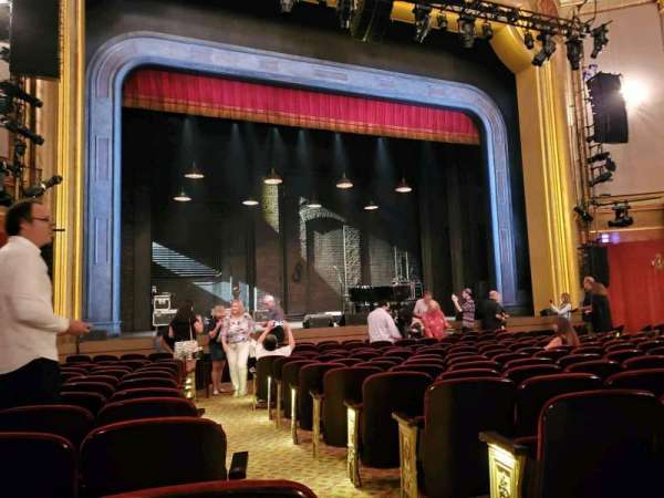 St. James Theatre, section: Orchestra L, row: M, seat: 3