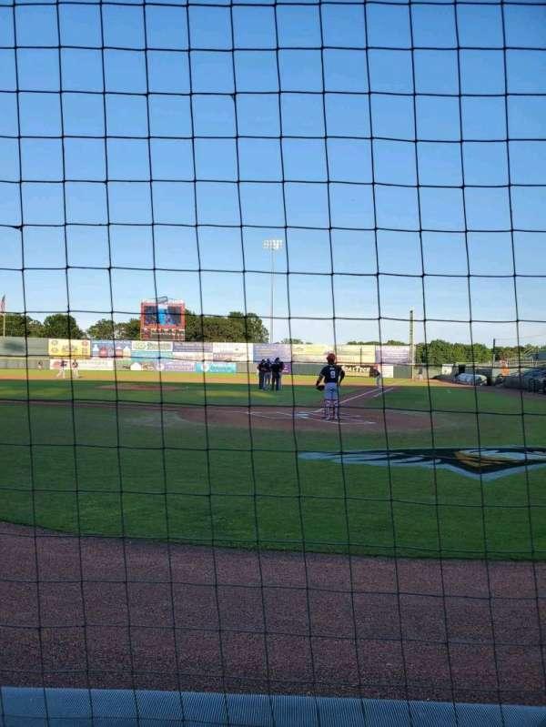 Arthur W. Perdue Stadium, section: 105 Field Box, row: A, seat: 1