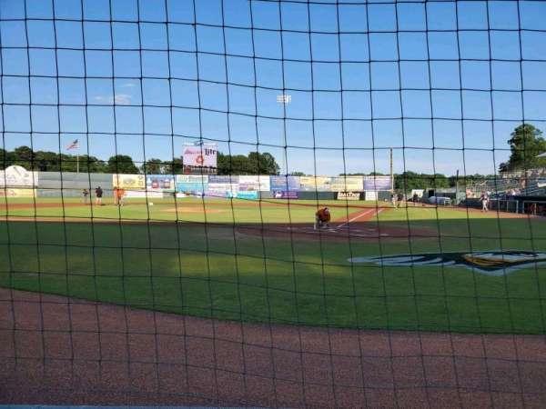 Arthur W. Perdue Stadium, section: 105 Field Box, row: A, seat: 3