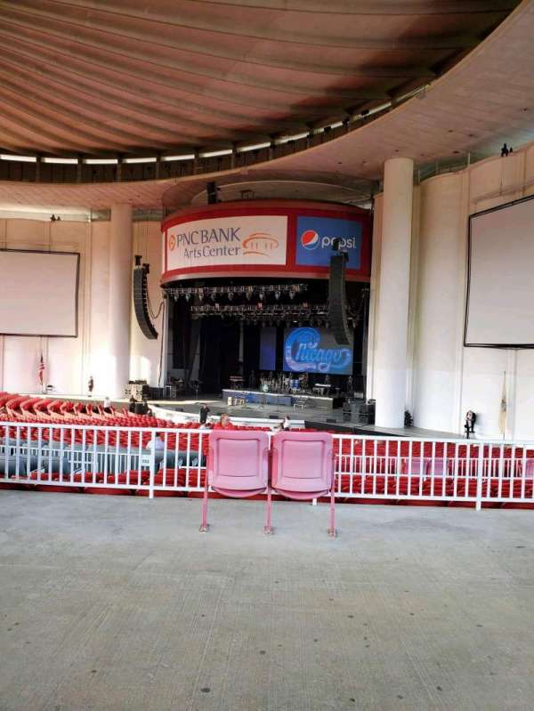 PNC Bank Arts Center, section: 301, row: A, seat: 28