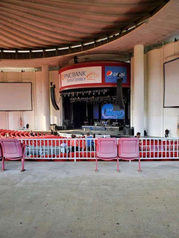 PNC Bank Arts Center, section: 301, row: A, seat: 26