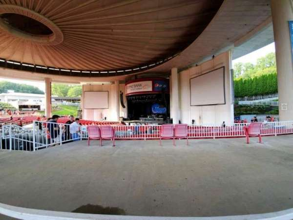 PNC Bank Arts Center, section: 301, row: A, seat: 24
