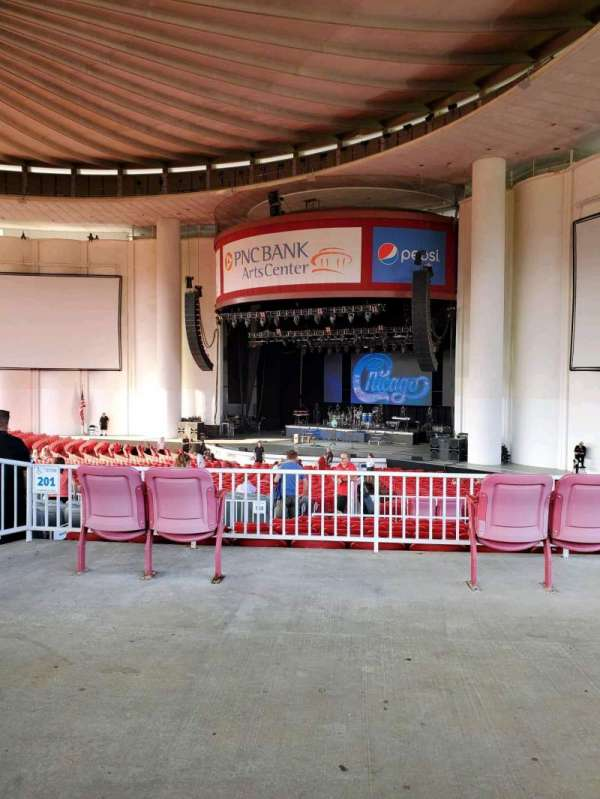 PNC Bank Arts Center, section: 301, row: A, seat: 22