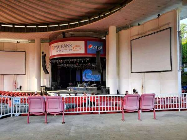 PNC Bank Arts Center, section: 301, row: A, seat: 20