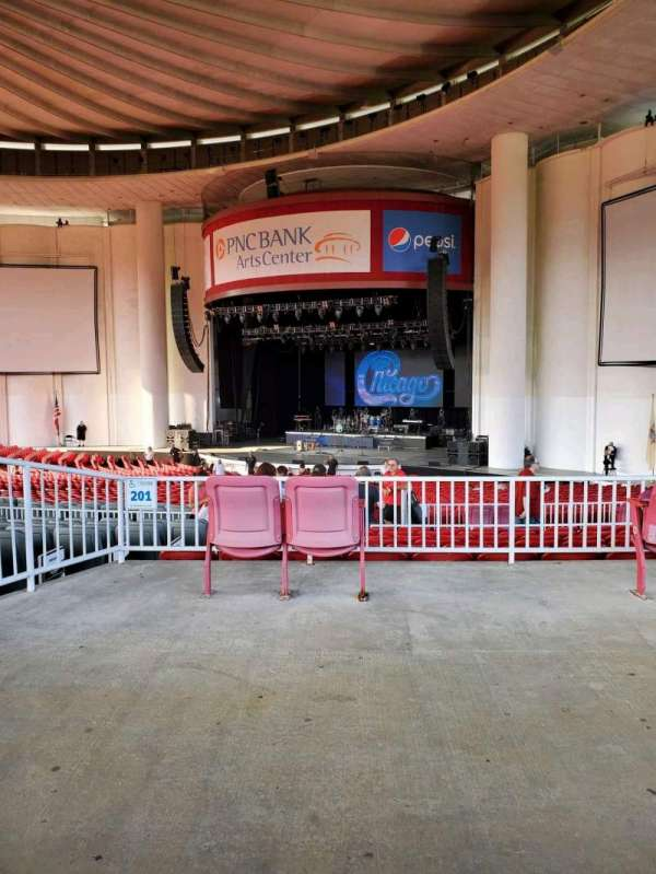 PNC Bank Arts Center, section: 301, row: A, seat: 18