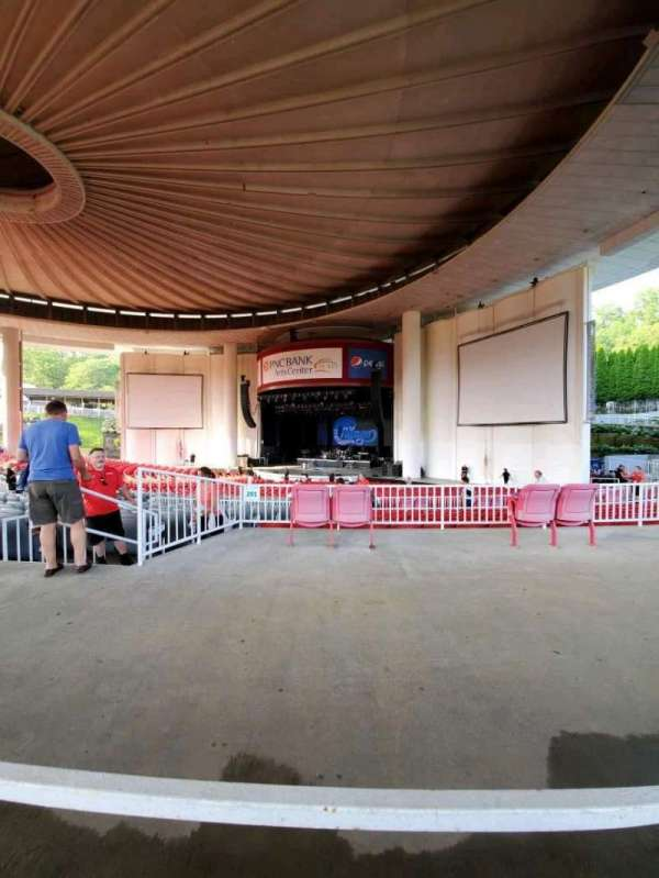 PNC Bank Arts Center, section: 301, row: A, seat: 16
