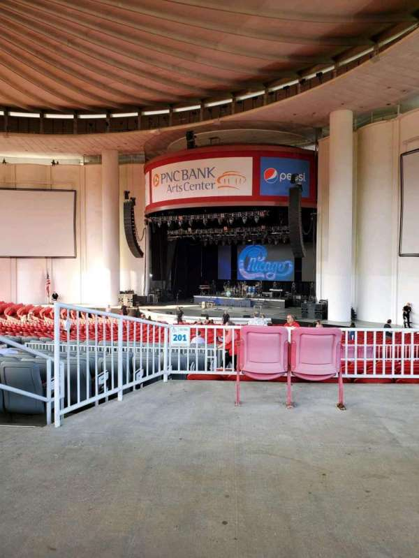 PNC Bank Arts Center, section: 301, row: A, seat: 14
