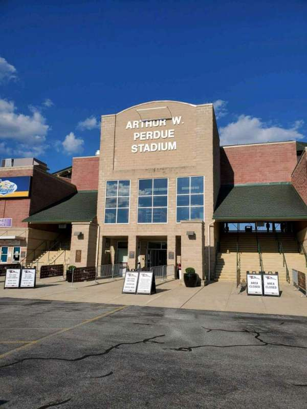 Arthur W. Perdue Stadium, section: EXTERIOR